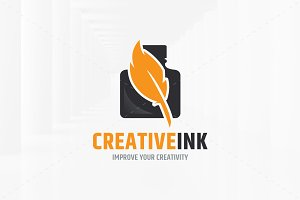 Creative Ink Logo Template