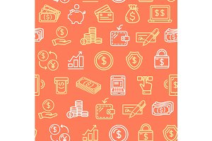 Money Finance Pattern Background
