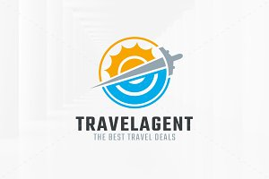 Travel Agent Logo Template