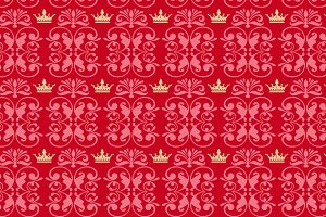 Royal red background