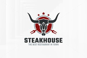 Steakhouse Logo Template