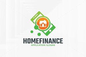 Home Finance Logo Template