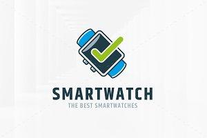 Smart Watch Logo Template