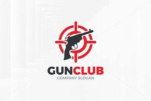 Gun Club Logo Template