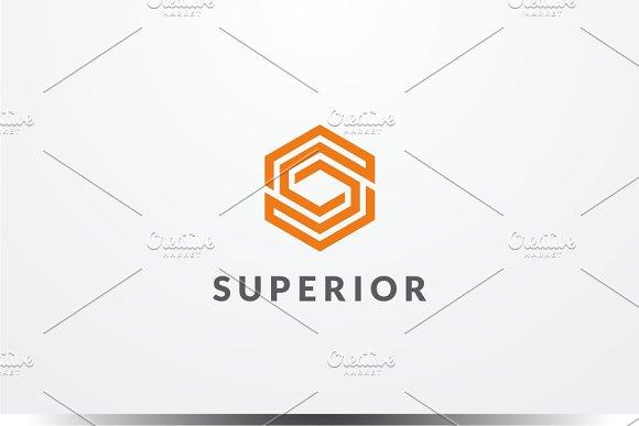 Superior Letter S Logo