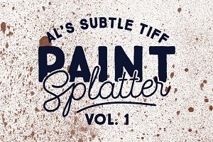 Subtle Tiff Paint Splatter Vol. 1