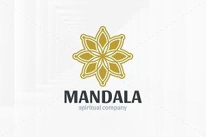 Mandala Logo Template