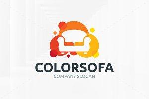 Color Sofa Logo Template