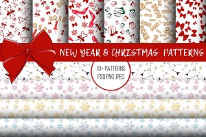 New Year & Christmas Patterns