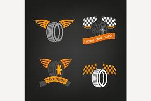 Tire Shop Logo