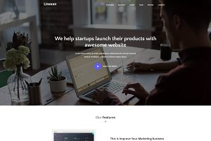 Linexon - Landing Page Template