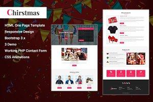 Christmas - Html Landing Page