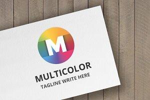 Multicolor (Letter M) Logo
