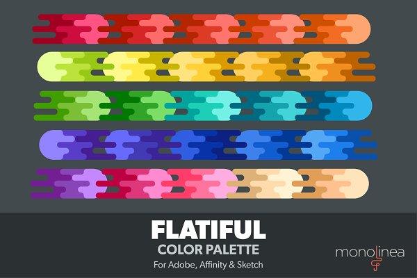 Palettes: Monolinea - Flatiful Color Palette