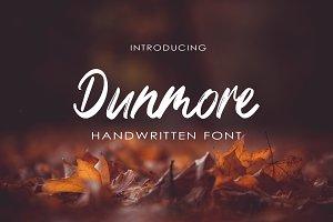 Dunmore Handwritten-Font