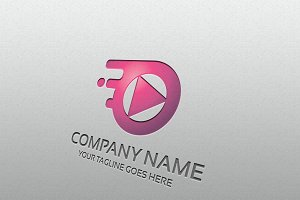 media play – Logo Template