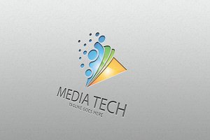 media tech– Logo Template