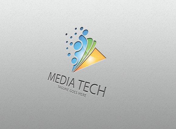 media tech– Logo Template