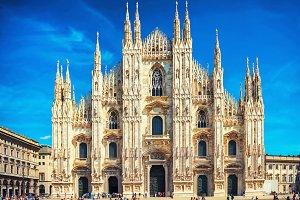 Cathedral Duomo in Milan