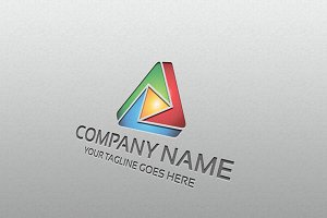 media triangle – Logo Template