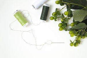 Sewing | Thread Flat Lay
