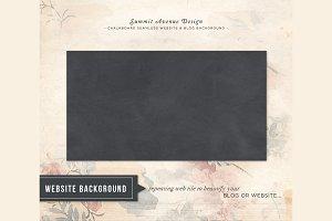 Seamless Web Chalkboard Pattern