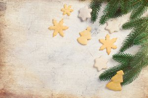 Gingerbread cookies and Christmas de