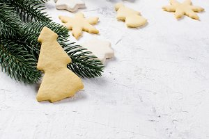 Gingerbread cookies and Christmas de