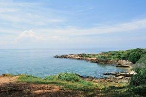 View of beautiful sea
