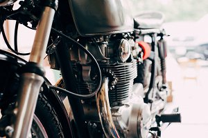 Cafe Racer Project Bike