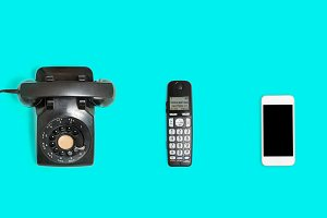 History of telephones from rotary to smartphone