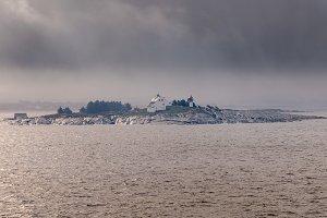 Feistein Lighthouse near Stavanger in Norway