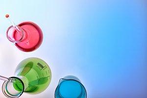 Chemical laboratory glassware top