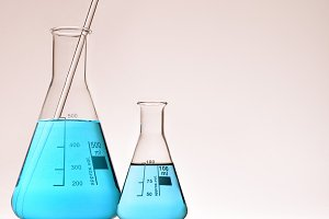 Laboratory glassware warm vertical