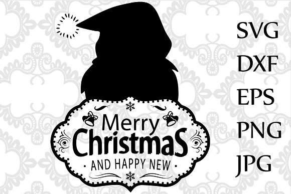 merry christmas svg illustrations