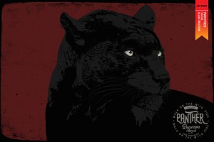 PANTHER - Vector illustration