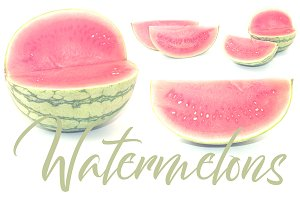 4 Watermelon Backgrounds & Photos