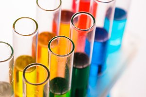 Raibow liqhuids tubes