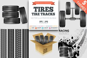 Tires and Tire Tracks