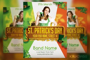 St. Patrick's Day Irish Flyer