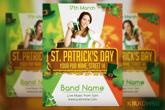 St. Patrick's Day Irish Flyer - Flyers