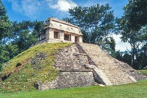 Ruins of Palenque. Chiapas, Mexico.
