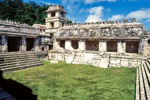 Patio of the Captives, Palenque