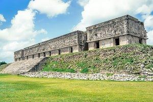 Mayan Governor's Palace. Uxmal