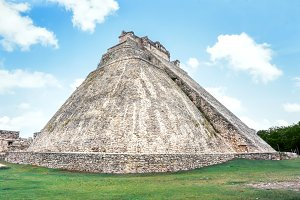 Temple of the Magician, Uxmal,Mexico