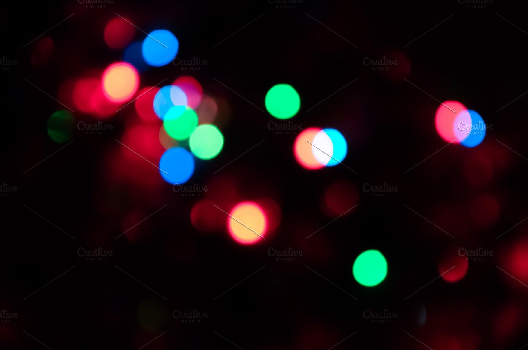 Bokeh Sparkling Circle Background Texture