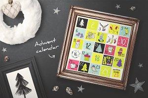 Merry & Bright Xmas - holiday set
