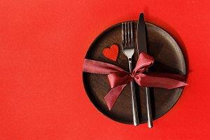 Beautiful arrangement of utensil and