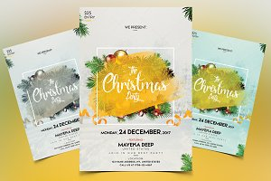 Christmas - Invitation & PSD Flyer