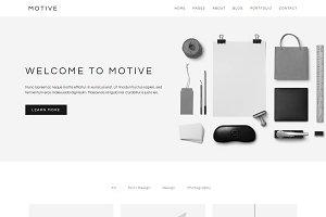 Motive - Minimal Portfolio Template